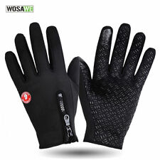 1Pair Cycling Gloves Fleece Lining Warm Touchscreen Outdoor Sports Gloves