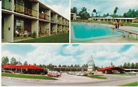 "Folkston GA ""Howard Johnson's Motor Lodge"" Postcard Georgia"