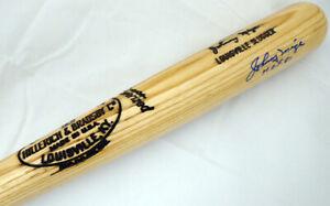 "Johnny Mize Autographed Slugger Bat ""HOF 81"" Yankees, Cardinals Beckett #F87920"