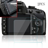 Full Cover Screen Protector Tempered Glass Guard Film For Nikon D3200 D3300/3400