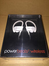 Dre Beats Powerbeats 2 Wireless Ear Hook Bluetooth Headphones White