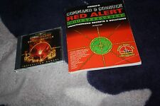 vintage pc game Command & Conquer Red Alert Counterstrike with Prima guide