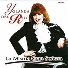 YOLANDA DEL RIO - La Misma Gran Senora - CD - **NEW/STILL SEALED** REMAINDER CUT