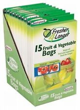 12 Sello un paquete fresco durante más tiempo bolsas de frutas y vegetales-Bolsa De Alimentos
