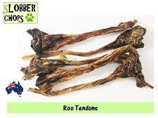 Kangaroo Tendons, Roo Tendons 3kg. Organic dog treat (free sample)