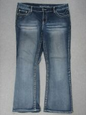 SD03431 **MAURICES** FLARE WOMENS JEANS sz16S; NICE JEANS!