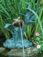 Aquascape Frog on Reed Spitter Fountain With Pump AQS 78211
