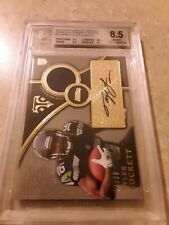 2015 Tyler Lockett Topps Thriple Threads Rookie Autograph Relics Seahawks BGS Rc