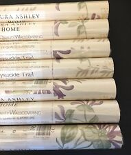 New Laura Ashley Honeysuckle Grape Purple Wallpaper Price Per Roll