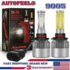 AUTOFEEL 9005 HB3 LED Headlight Bulb High Beam Conversion Kit 6000K 7600LM White