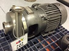 Apv Crepaco 8v Stainless Steel Centrifugal Pump 3 X 1 12 Bevel Seat Inout