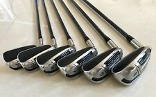 set of Cleveland Launcher HB IRONS  5-PW.    regular graphite.   LEFT HANDED