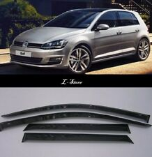 For Volkswagen Golf 7 Hb 2013-2019 Side Window Visors Sun Guard Vent Deflectors