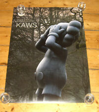KAWS Official Show Poster des Nations Unies Signed Comme neuf Print chumy 5yl