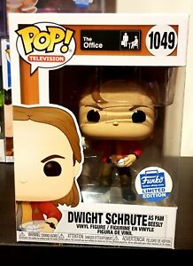 Pop Vinyl The Office Dwight Schrute as Pam with Snowballs Funko Shop Exclusive