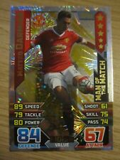 Match Attax 2015/16 MOTM card - Matteo Darmian of Manchester United