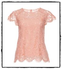 Alannah Hill Please Do Not Cry Lace Top + Slip Blush Shell $199rrp Size 12