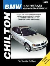 Chilton Workshop Manual BMW 3 Series E46 includes Z4 1999-2005 Service & Repair