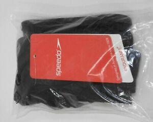 Speedo Mens 5cm Endurance Logo Swim Briefs Black - 16