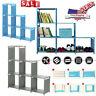 Home Room 3-tier 6-cube Cabinet Bookcase Storage Cube Closet Organizer Shelf USA