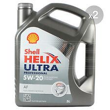 Shell Helix Ultra Professionnel AF 5w-20 Entièrement Synthétique Huile Moteur 2 X 5 L