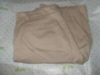 $64 JONES NEW YORK SAND BROWN bermuda SPORT shorts SIZE 10 Stretch FRIZZ BOTTOM