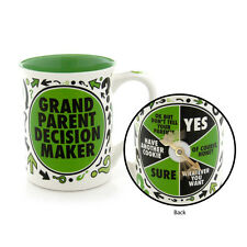 Grandparent Decision Maker 16oz Our Name is Mud spinner coffee cup mug 4041726