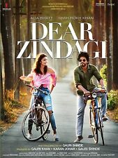 DEAR ZINDAGI - OFFICIAL BOLLYWOOD DVD [SHAH RUKH KHAN]