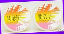 2 Victoria's Secret ENDLESS SUNSET Orchid & Currant Whipped Body Souffle Butter