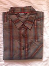 Arc'teryx Men's L Plaid Short Sleeve Shirt NWOT New Pathline retails for $75.00