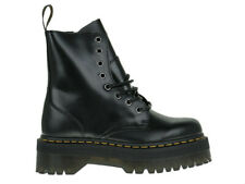 Damen Stiefel Dr Martens Jadon Plateu Black Polished Smooth 1460 8-Loch 15265001