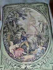 French Tapestry O Franne a L'Amour Lovers & Cupids