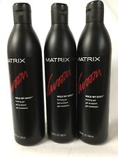 Matrix Vavoom Hold My Body Forming Hair Gel  16.8 oz (3 pack )