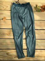 REI Kids Midweight Long Underwear Bottoms great condition green-striped M 10-12