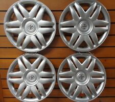 "1 Set Of New 2000 2001 Toyota Camry 15"" Hubcaps Wheel Covers 61104 Free Shipping"