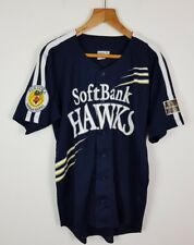 VINTAGE RETRO JAPANESE BASEBALL SPORTS JERSEY SHIRT TOP BRIGHT BOLD ATHLETIC