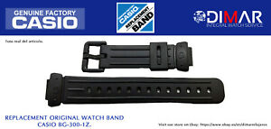Replacement Original Watch Band Casio BG-300-1Z