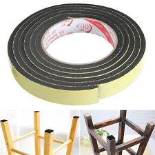 2m Black Single Sided Self Adhesive Foam Tape Sticker 20mm Width x 5mm Thickness