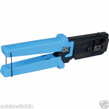 Platinum Tools 100004C EZ-RJ45 Connector Crimp Wire Cutter Stripper RJ 11 12 45