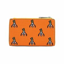 More details for loungefly x disney goofy canvas embroidered flap purse