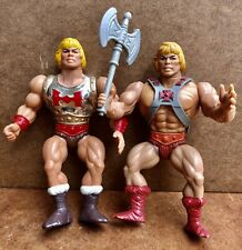 Vintage Masters of the Universe MOTU He Man Figure Lot of Two