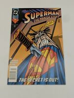 Superman The Man of Steel #44 (May 1995) Vintage DC Comics Free Shipping