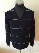 Men's Wool Striped Button-Front Jumpers & Cardigans
