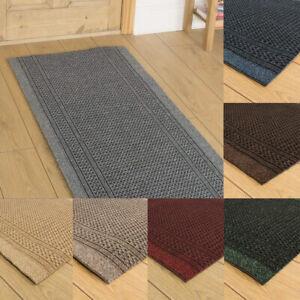 runrug Hallway Carpet Runner Non Slip Extra Long Rug Kitchen Washable Wide Aztec