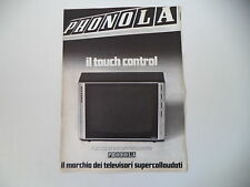 advertising Pubblicità 1973 TELEVISORE PHONOLA 24 POLLICI