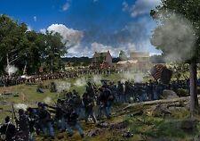 118th Pa. Regiment at Gettysburg Framed print Ltd/ Ed