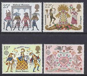 1981 GB FOLKLORE SET OF 4 MNH/MUH SG1143-SG1146