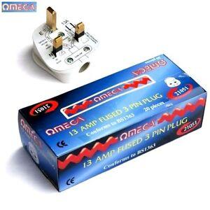 Omega13 Amp Male Plug Electrical Home, Office