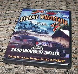 Xtreme Whitetails Volume 4  DVD Deer Hunting
