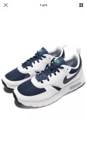 Nike Air Max Vision GS Midnight Navy Boys Running Shoes Size 4 Very Nice!